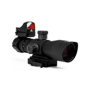 Trinity Force Redcon-1 Scope Combo 3-9x42 with Micro Red Dot Rangefinder Recticle SRFS3942RGBH