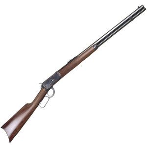 "Cimarron Model 1892 Lever Action Rifle 45 LC 24"" Barrel 12 Rounds Walnut Stock Blued"