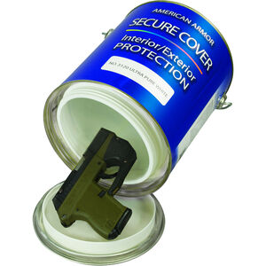 Personal Security Products 1 Gallon Paint Can Small Handgun Concealment