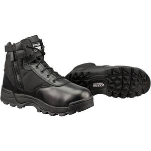 "Original S.W.A.T. Classic 6"" Side Zip Men's Boot Non-Marking Sole Leather/Nylon Size 8.5 Wide Black 1164W-8.5"