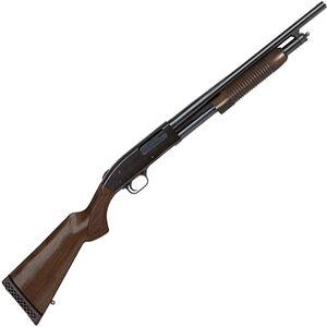 "Mossberg 500 Retro Pump Action Shotgun 12 Gauge 18.5"" Barrel 3"" Chamber 6 Rounds Walnut Stock Blued"