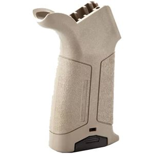 HERA USA AR-15 HFG Pistol Grip with Storage Polymer Tan