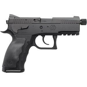 "Kriss Sphinx SDP Compact Alpha 9mm Semi Auto Pistol 3.7"" Threaded Barrel 15 Rounds Black"