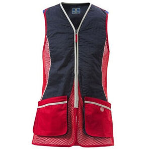 Beretta New Silver Pigeon International Style Shooting Vest 2XL Red/Navy