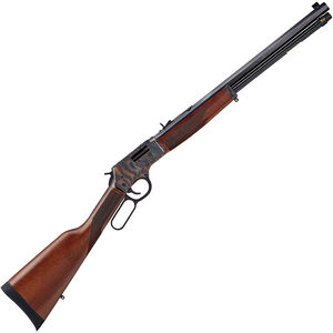 """Henry Big Boy Color Case Hardened Lever Action Rifle .44 Mag/.44 Special 20"""" Octagon Barrel 10 Rounds Adjustable Sights Walnut Stock Color Case Hardened/Blued Finish"""