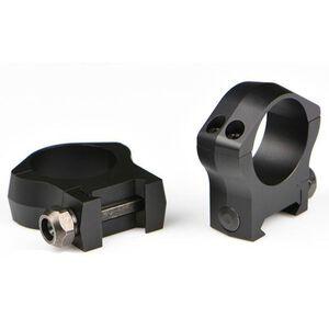 Warne Mountain Tech Weaver/Picatinny Ring 34mm Low Height Aluminum Matte Black