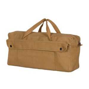 Fox Outdoor Jumbo Mechanic's Tool Bag With Brass Zipper Coyote Tan 40-658