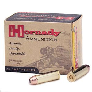 Hornady Custom .357 Magnum Ammunition 25 Rounds 158 Grain Hornady XTP Jacketed Hollow Point 1250fps