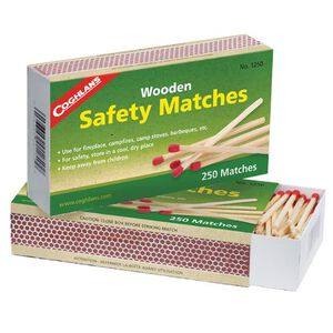 Coghlan's Wooden Safety Matches 500 Count 1250