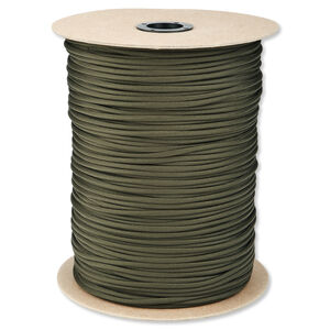 5IVE Star 550 Paracord Seven Strand 1000 Feet Olive Drab