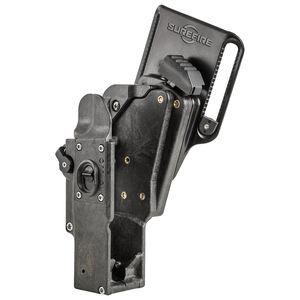 SureFire MASTERFIRE Rapid Deploy Belt Holster Right Handed Level 3 Retention for SureFire H-Series Weaponlight Lightweight Polymer Matte Black