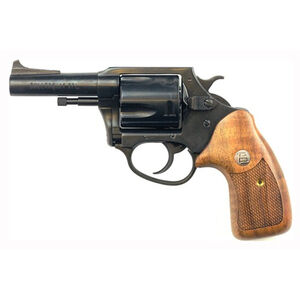 """Charter Arms Classic Bulldog Revolver .44 Special 3"""" Barrel 5 Rounds Wood Grips Blued 34431"""
