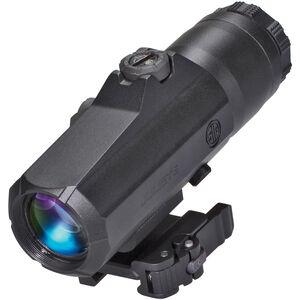 SIG Sauer Juliet6 6x Magnifier 24mm Objective Powercam Flip To Side Quick Release Picatinny Rail Mount Aluminum Housing Black