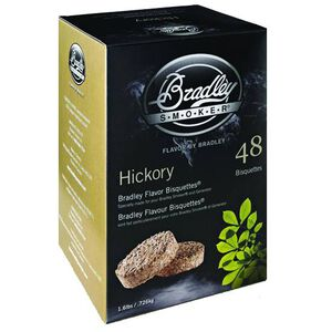 Bradley Smoker Bisquettes Hickory 48 Pack BTHC48