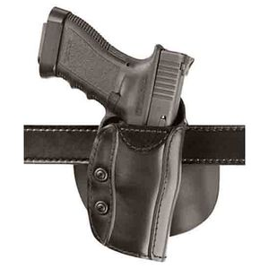 Safariland 568 Holster Right Hand Plain Black 1911 Commander Safari Laminate Belt and Paddle