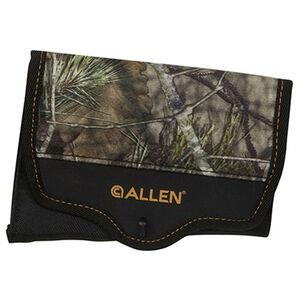 Allen Buttstock 8 Round Rifle Shell Holder with Cover Nylon Mossy Oak Break Up
