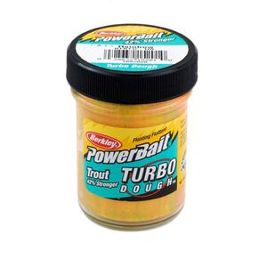 Berkley Power bait Turbo Dough Trout Bait 1.75 Ounces Rainbow 1092060