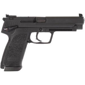 "HK USP Expert .45 ACP Semi Auto Pistol 5.2"" Barrel 10 Rounds Reinforced Polymer Frame Long Sight Radius Adjustable Rear Sight Black"
