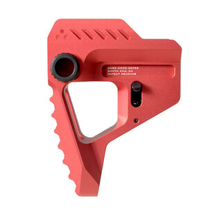 Strike Industries AR-15 Pit Viper Stock Billet Aluminum Red