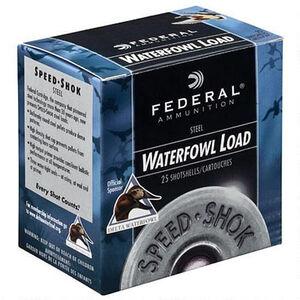 "Federal Ammunition Speed-Shok 12 Gauge 3"" T Steel 1.25 oz 250 Rounds"