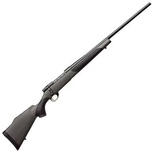 "Weatherby Vanguard Synthetic Bolt Action Rifle 7mm-08 Rem 5 Rounds 24"" Barrel Synthetic Stock Matte Blued Finish"