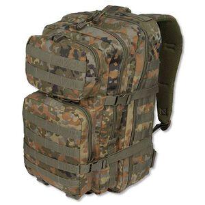 MIL-TEC Level I Assault Pack Flectar Camouflage Heavy Duty 600 Denier Polyester Construction 14002221