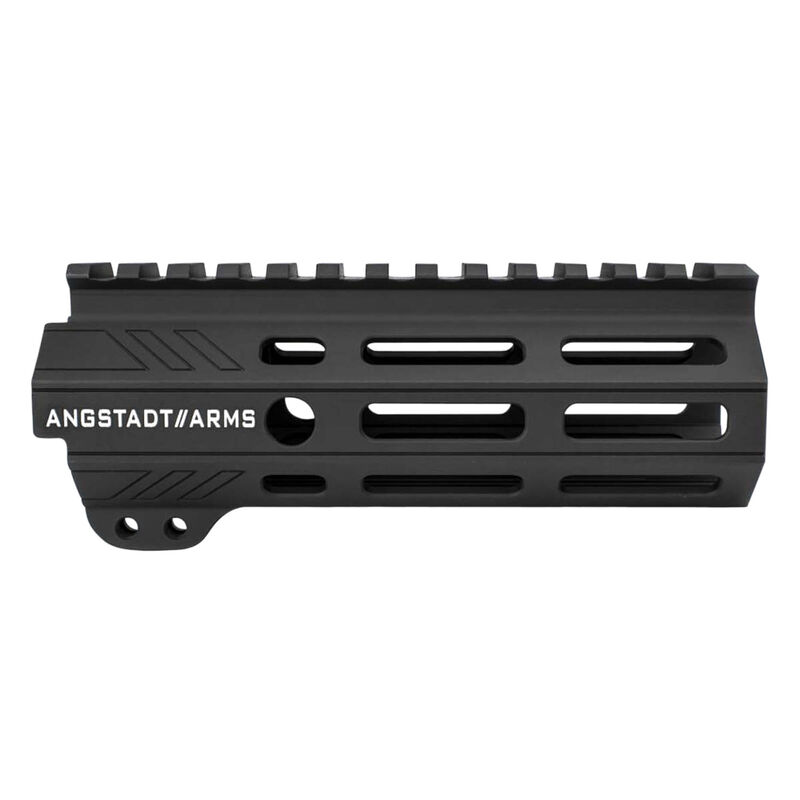 "Angstadt Arms AR-15 UDP Series 5.5"" Free Float M-LOK Compatible Hand Guard Seven Sided Design Aluminum Anodized Matte Black"