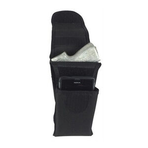 TUFF iTuck Conceal Carry Phone and Firearm Holster Size 10 Ambidextrous Nylon Black 4298-NYA-10