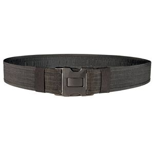 "Bianchi 8110 PatrolTek Duty Belt 52-56"" Waist 2"" Quick Release Buckle Hook Lined Nylon Web Construction Black 31445"