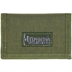 "Maxpedition Micro Wallet 4.5""x.5""x3"" Nylon OD Green"