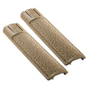 Ergo Grip Picatinny Rail Covers 15 Slot Length Polymer Flat Dark Earth 2 Pack 4335DE