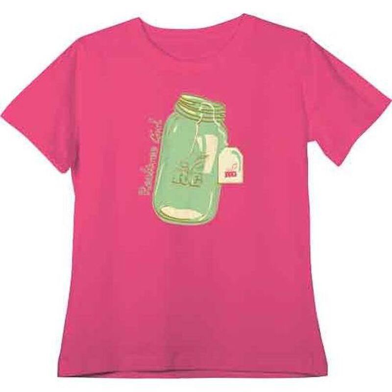 Realtree Sweet Tea Women's T-shirt XL Cotton Fuchsia