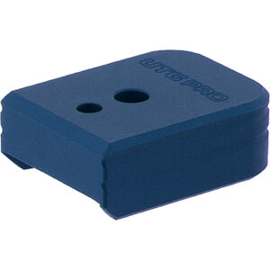 UTG PRO +0 Base Pad, S&W M&P 9/40, Matte Blue Aluminum