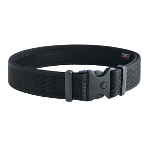 "Uncle Mike's Ultra Duty Belt 2"" Nylon Hook and Loop Liner Mirage Basketweave Small 26"" to 30"" Black 70921"
