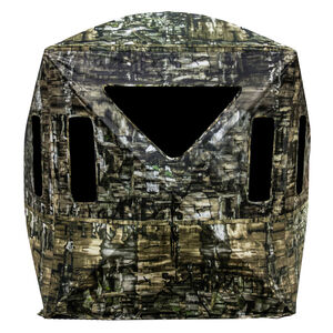 """Primos Hunting Double Bull Surroundview 180 Degree Ground Blind 48"""" x 48"""" x 65"""" Polyester Truth Camouflage"""