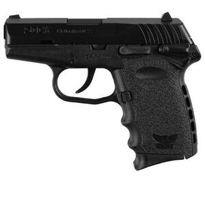 """SCCY CPX-1 Semi Auto Handgun 9mm Luger 3.1"""" Barrel 10 Rounds Polymer Grip Thumb Safety Black CPX1CBFC"""