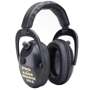 Pro Ears Predator Gold Shooting Ear Muffs 9.3 Ounces Black GS-P300-B