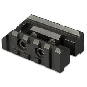 TuffZone AR-15 Front Sight Base Accessory Rails Two Piece Aluminum Black TZ-MR5F