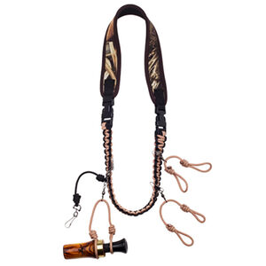 Duck Commander Cut Em Lanyard Duck Call Holder Camo