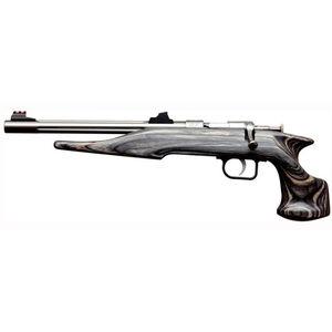 "Chipmunk Pistol Hunter Bolt Action Pistol .22 Long Rifle 10.5"" Barrel Single Shot Laminate Black Stock Stainless Finish 40103"