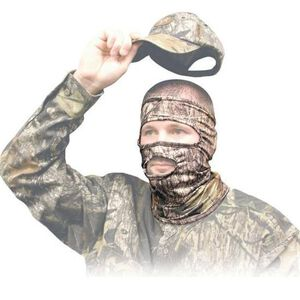 Primos Stretch Fit 3/4 Mask Mossy Oak Break Up