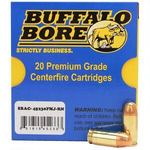 Buffalo Bore .45 ACP 20 Rounds, FMJ RN,  230 Grain