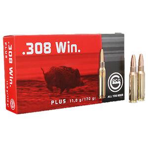 GECO .308 Winchester Ammunition 20 Rounds 170 Grain GECO Plus Projectile