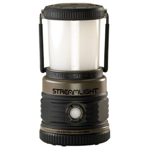 "Streamlight ""The Siege"" Handheld LED Lantern 340 Lumens 3x D Batteries Click Switch Hanging Hook Polycarbonate Body Coyote 44931"