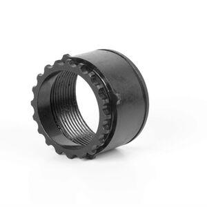 LBE Unlimited LR-308 Barrel Nut, Steel, Black