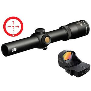 Burris Fullfield TAC30 Rifle Scope 1-4x24 Ballistic CQ Illuminated Reticle 5.56 Matte 30mm with FastFire II 4 MOA Red Dot and P.E.P.R. Mount 200433-FF