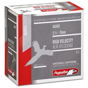 "Aguila Birdshot HV 20 Ga 2.75"" #4 Lead 1oz 250 Rounds"