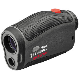 Leupold RX-1600i TBR/W with DNA Laser Rangefinder 6x Magnification 3 Reticles 1600 Yard Max Range Armor Coated Inclinometer Black/Gray