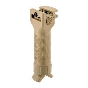 Grip Pod AR-15 V2 Vertical Forward Grip/Bipod Cam Lever Polymer Tan GPS-V2-CL-T
