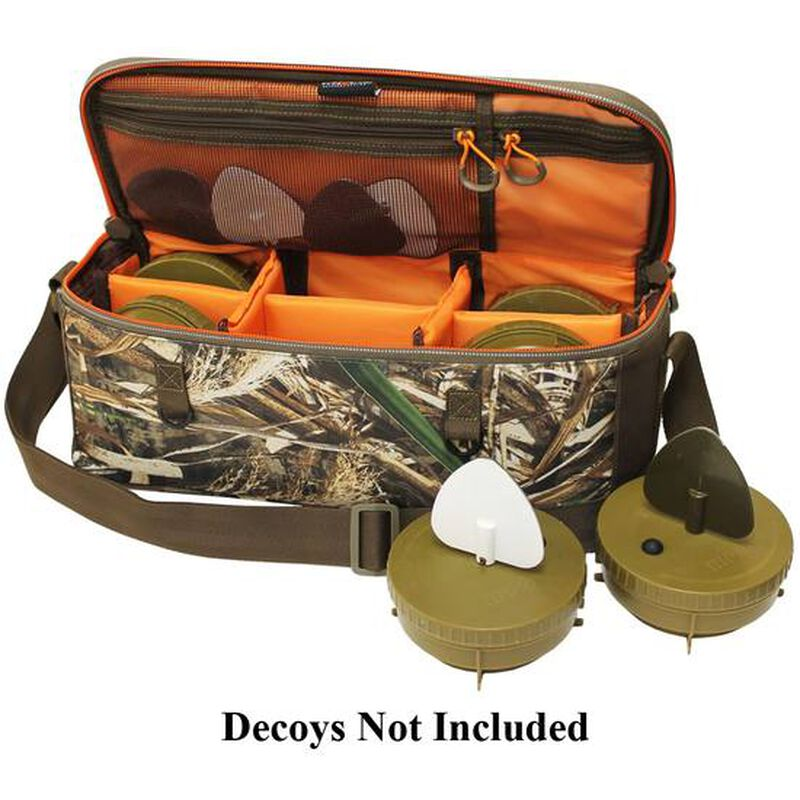 MOJO Outdoors Flock a Flicker Decoy Bag Holds Six Flicker Winged Decoys and Accessories Synthetic Fabric Realtree Max-5 Camo